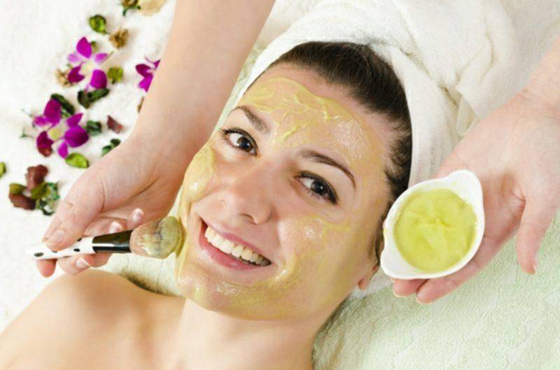 Gesichtsmasken Bananenmacke sensibile Haut DIY Rezept