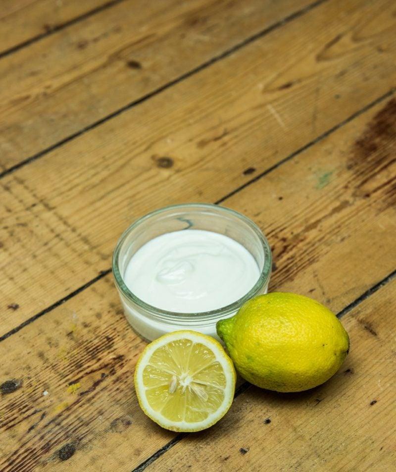 Maske selner machen Zitronensaft Quark Mischhaut