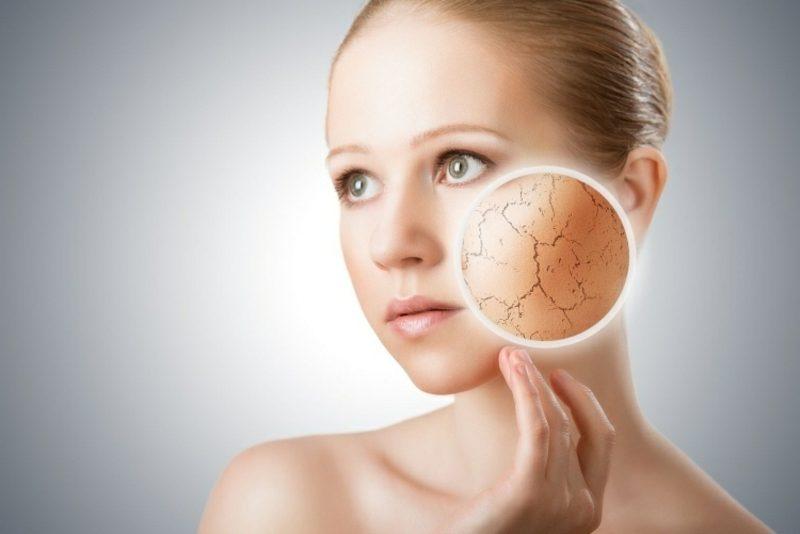 DIY Gesichtsmaske gegen trockene Haut