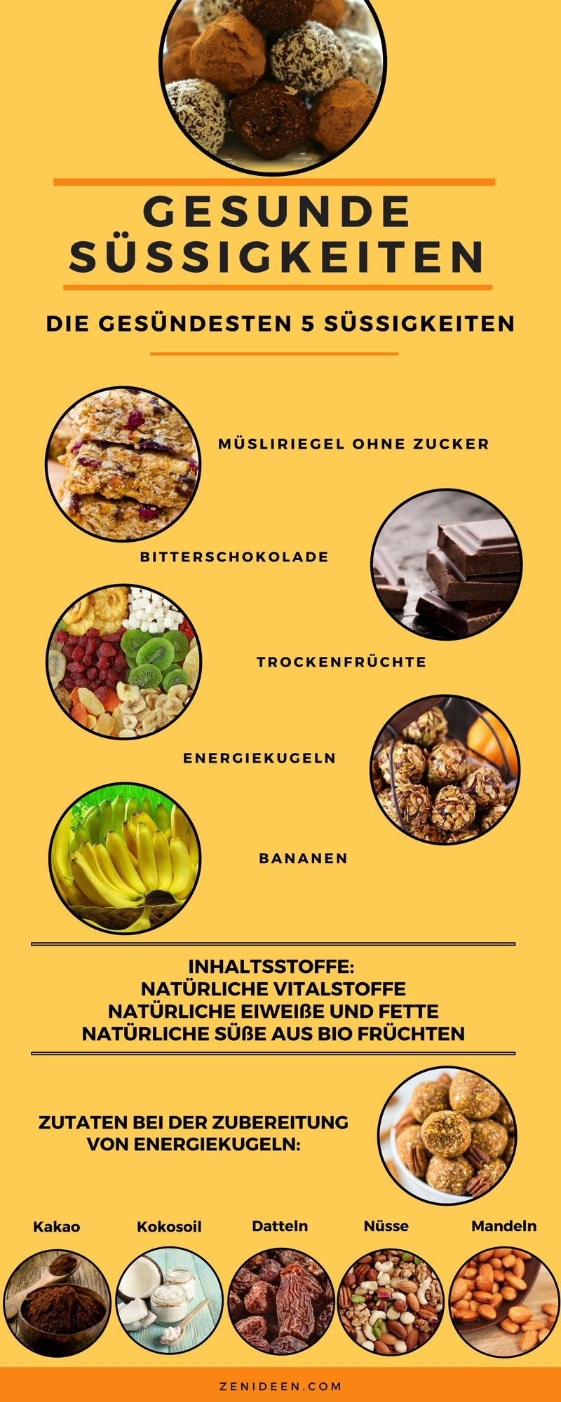 gesunde süßigkeiten gesunde ernährung kalorienarme süßigkeiten