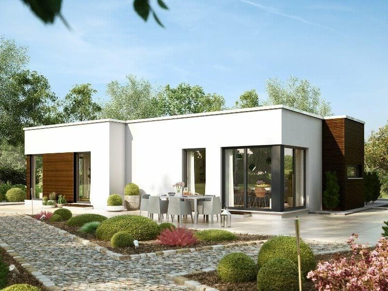 Haus kaufen Fertighaus klein, modern und praktisch