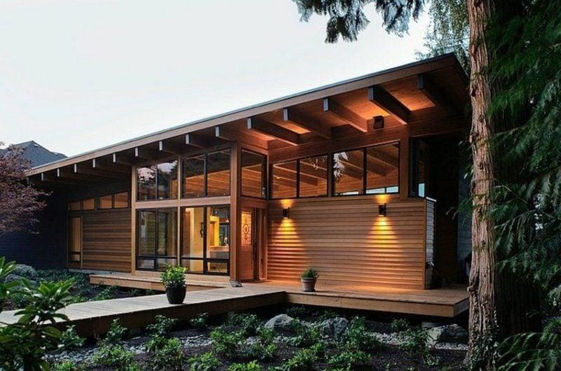Modernes Holzhaus welcher haustyp passt zu mir 5 ideen für moderne häuser