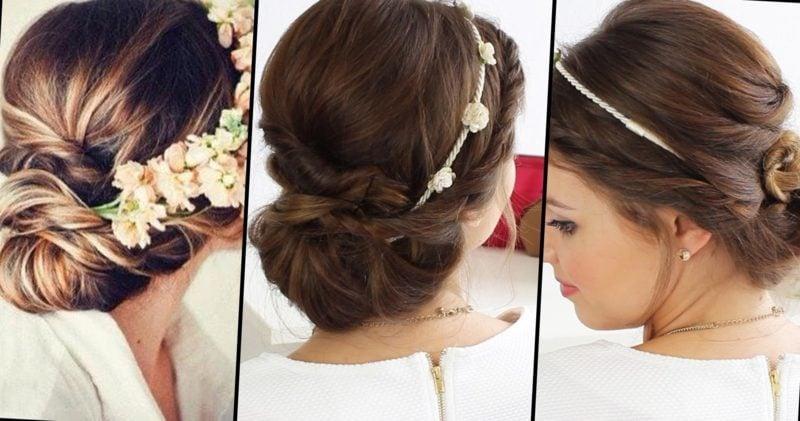 Hochsteckfrisuren Hochzeit kreative Ideen für die Brautjungfern