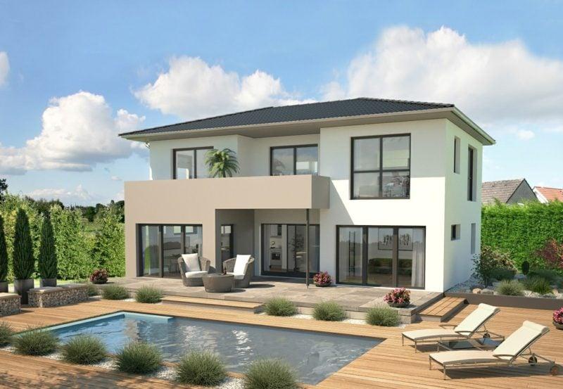 Traumhäuser modernes Architektenhaus