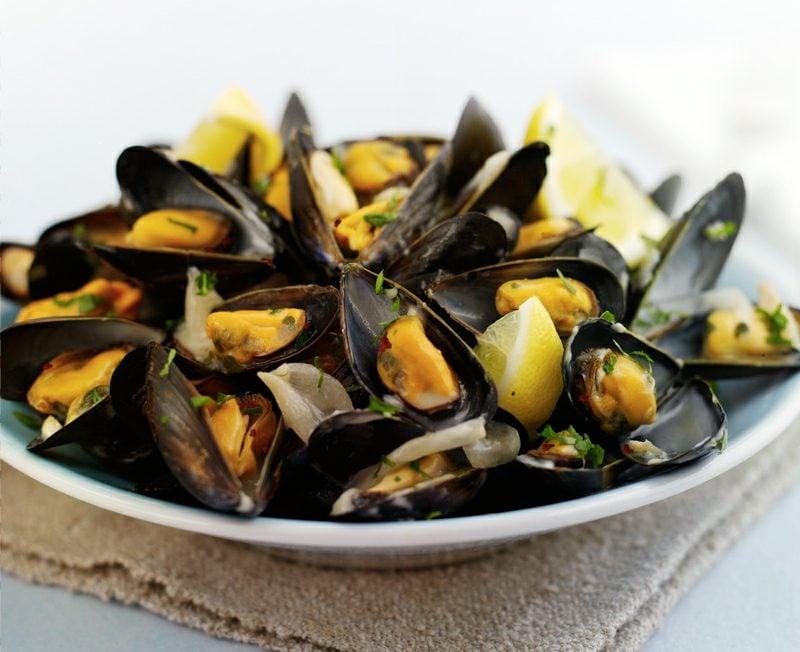 Essen ohne Kohlenhydrate Muscheln