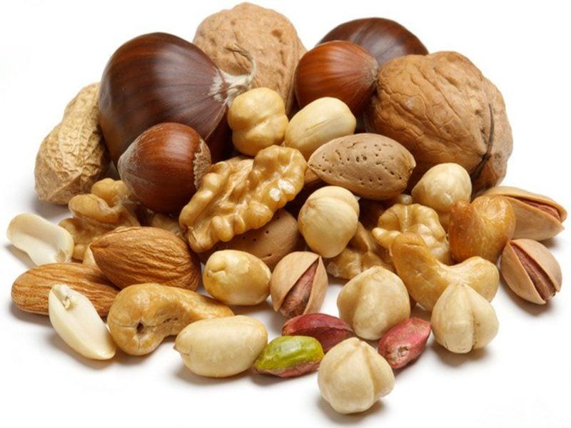 low carb Lebensmittel Nüsse