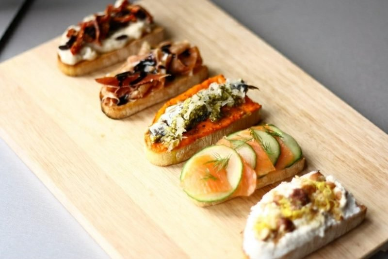 schnelles Fingerfood Party Crostini