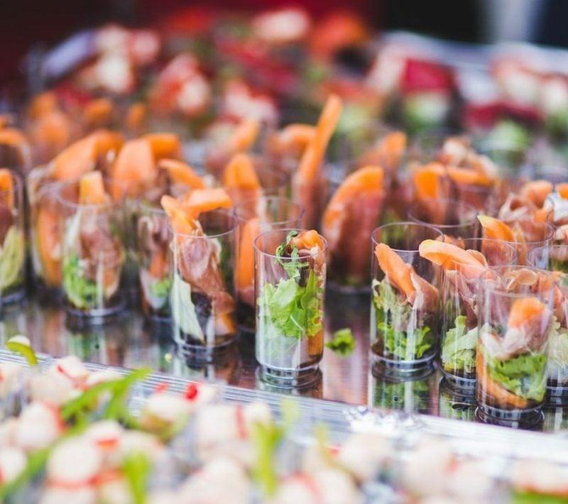Snacks selber machen schnell Rezepte Party Häppchen