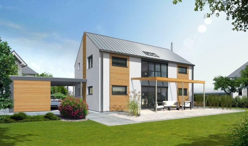 moderne Häuser Passivhaus modern energiesparend