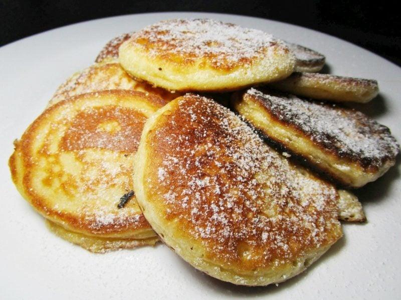 Pfannkuchen ohne Milch Rezept drei Zutaten