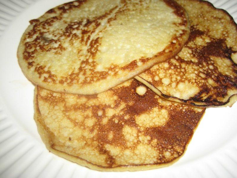 Pfannkuchen ohne Milch Rezept kalorienarm gesund
