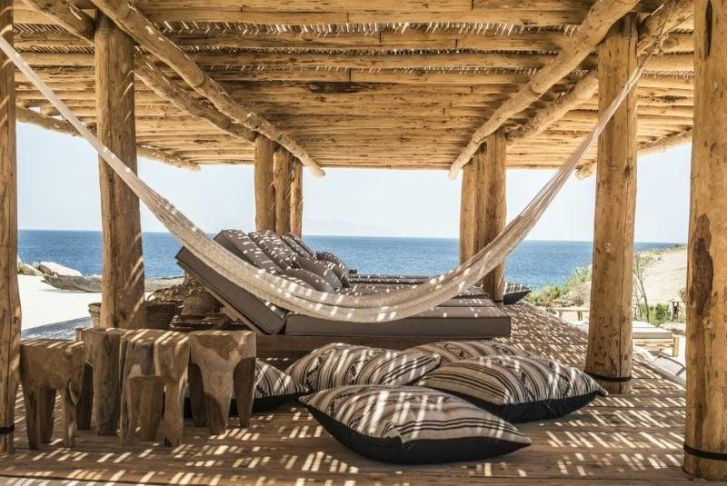 Terrassengestaltung mediterranischer Stil herrlicher Look