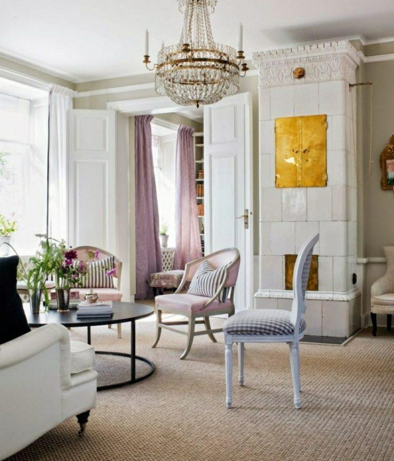 Wohnzimmer gestalten die schlichte Eleganz des skandinavischen Stils