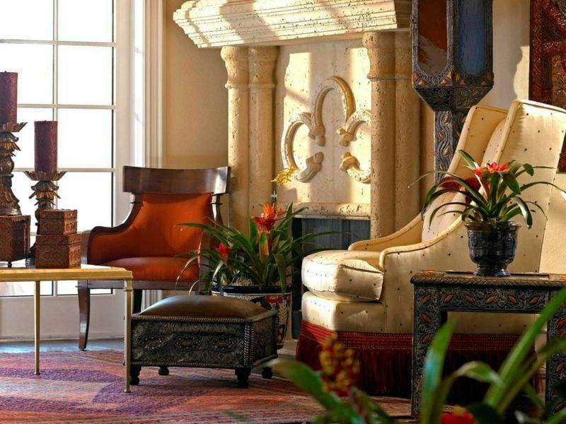 Wohnzimmer Gestalten Herrlicher Look Orientalisch Marokkanischer Stil
