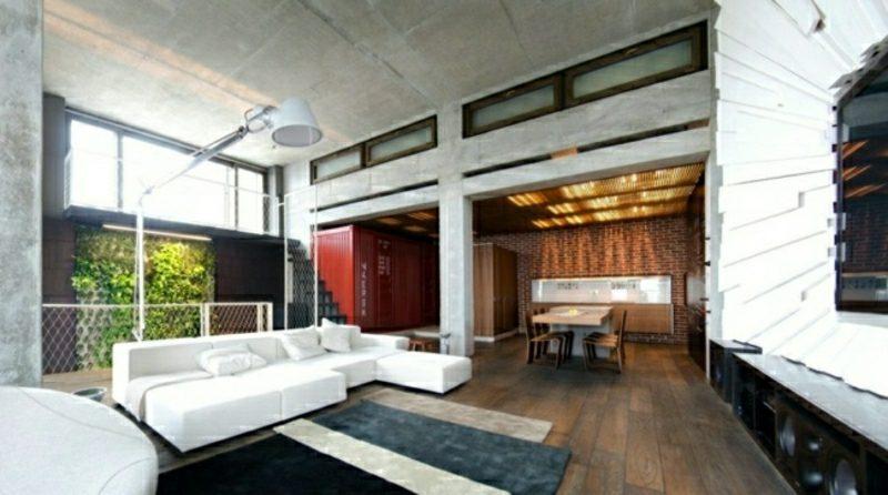 Wohnzimmer gestalten elegante und funktionale Einrichtung skandinavischer Stil