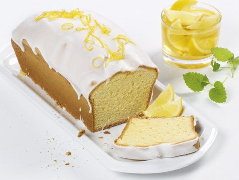 Kuchen ohne Zucker backen Zitronenkuchen gesunde Rezepte