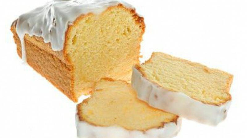 backen ohne Zucker Zitronenkuchen