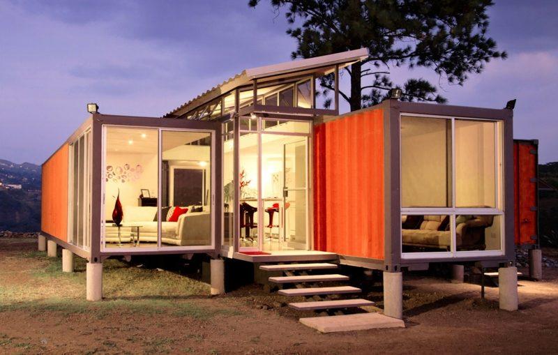 Traumhäuser Containerhaus Vor- und Nachteile