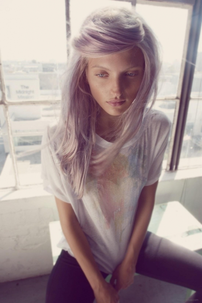blonde haare trendfarbe haarfarbe haare blondieren frisuren aschblonde haare