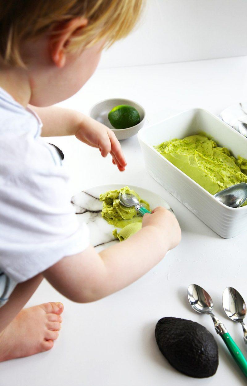 Avocado Eis selber machen
