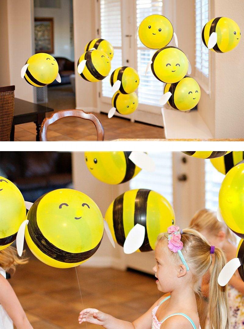 Einfache Bastelideen mit Ballons