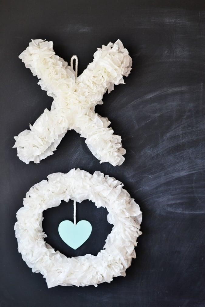 Basteln mit Kindern zum Valentinstag - Anleitung