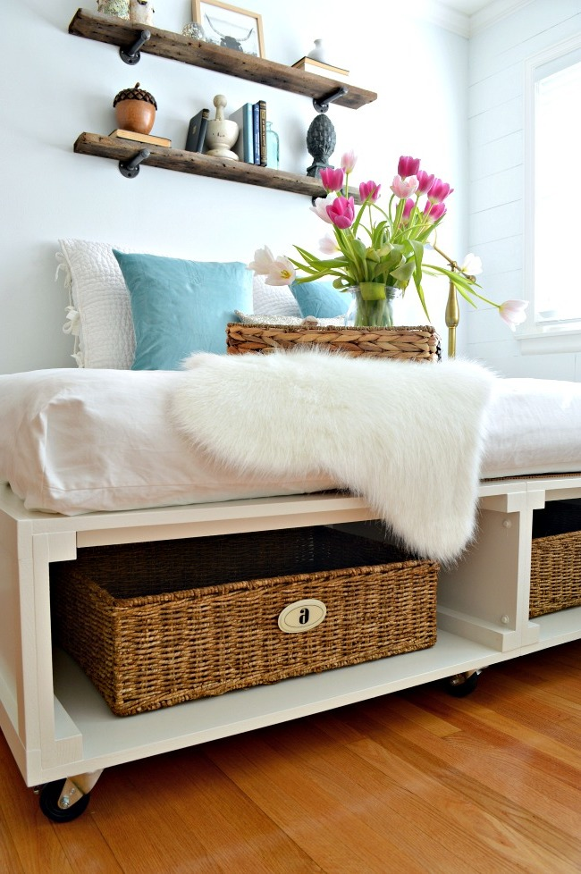 bett selber bauen ist leichte aufgabe 2 diy. Black Bedroom Furniture Sets. Home Design Ideas