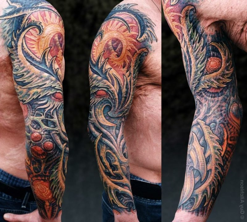 3d biomechanical tattoo artist