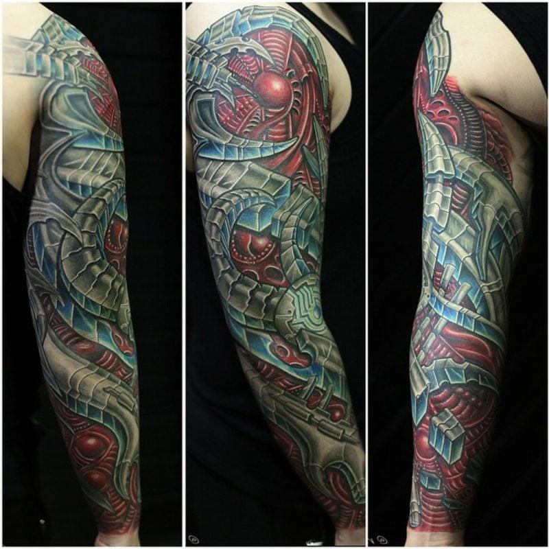 tattoos biomechanik