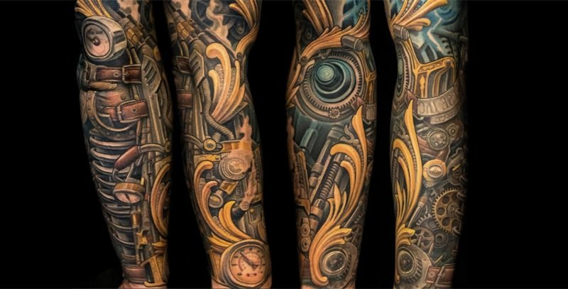 Biomechnik Tattoo