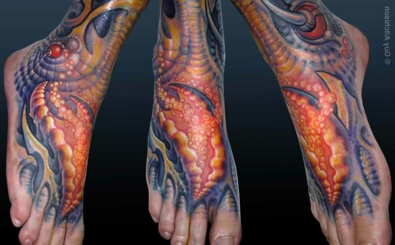 biomechanische tattoos biomechanik tattoo wade mechanische tattoos