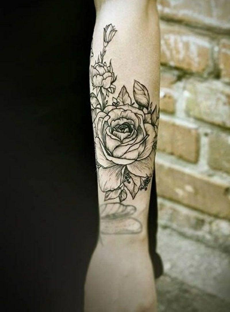 100 Herrliche Blumen Tattoo Entwürfe Für Ihre Eigene Inspiration