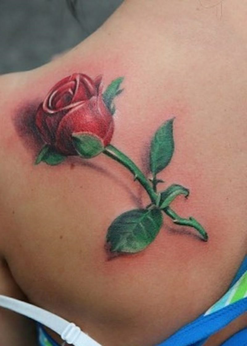 Blumen Tattoo erfreuen sich höchster Beliebtheit