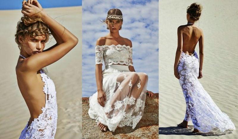Hochzeitskleider Boho Style