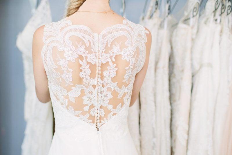 Brautkleid Lace Back - zu welche Figur passt?