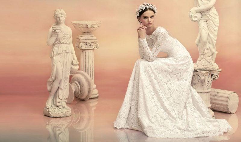 Das Kleid für Winter Hochzeit