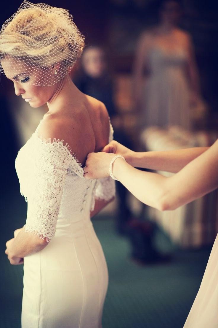 Brautkleid Lace Back - was sollten wir wissen