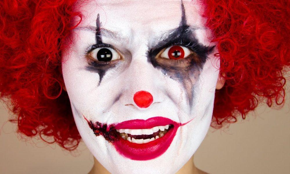 Clown schminken Fasching
