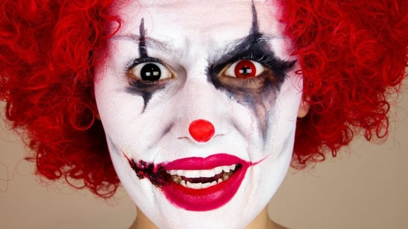 fasching make up im letzten moment clown schminken. Black Bedroom Furniture Sets. Home Design Ideas
