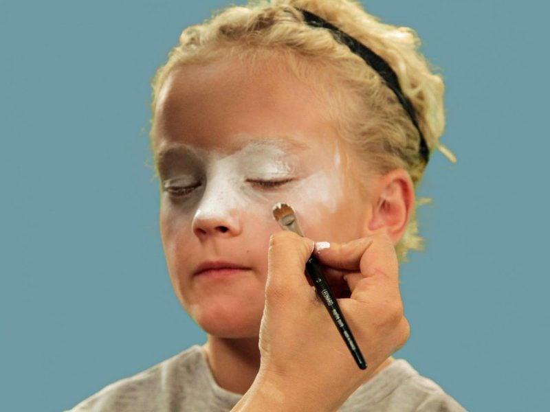Kinder Clown schminken