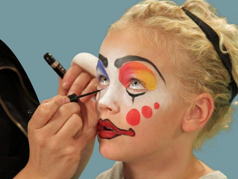 Fasching Make Up Im Letzten Moment Clown Schminken Anleitung Diy