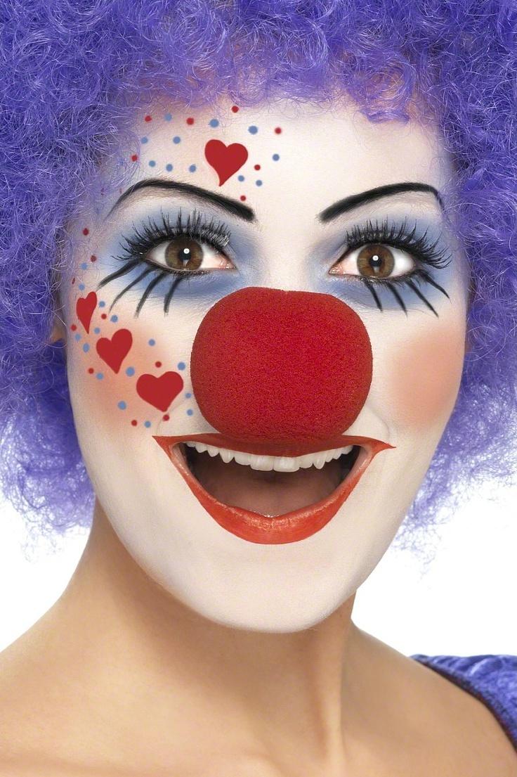 fasching make up im letzten moment clown schminken anleitung diy fasching zenideen