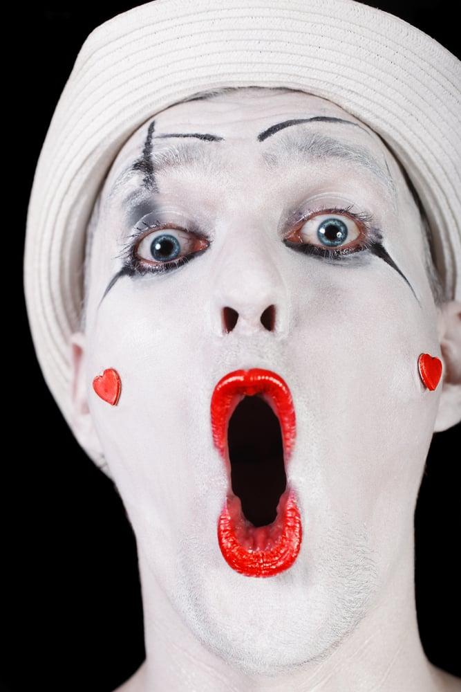 karneval schminken clown perfect clown schminken with. Black Bedroom Furniture Sets. Home Design Ideas
