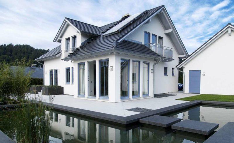 Häuser modernes Design Einfamimienhaus