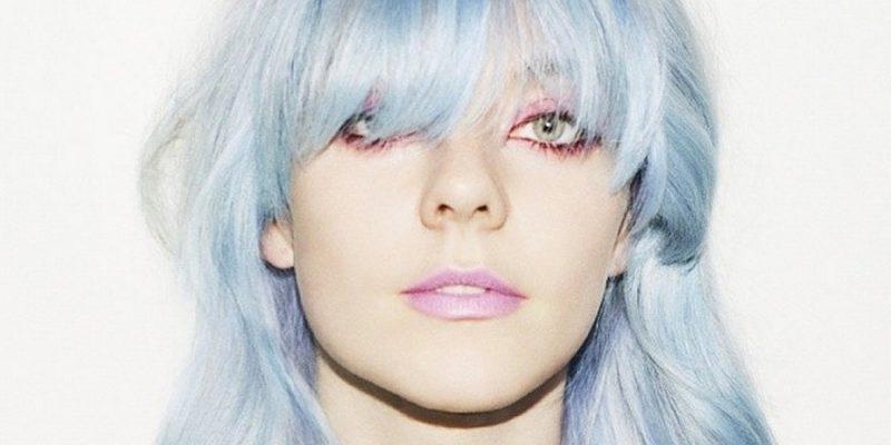 blaue haare haarfarben blau trend haarfarbe eisblau