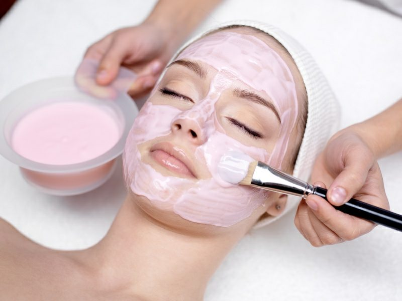 Gesichtsmasken selber machen Rezept mit Erdbeeren DIY
