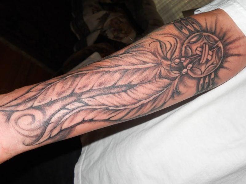 indianer tattoos traumf nger kl21 messianica. Black Bedroom Furniture Sets. Home Design Ideas