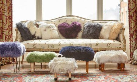einrichtungsideen schöne wohnideen fell möbel wohnzimmer einrichten