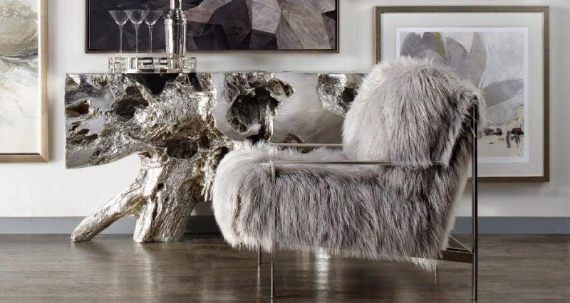 Fell Für Stuhl einrichtungsideen mit fell kuschelige möbel für kalte wintertage