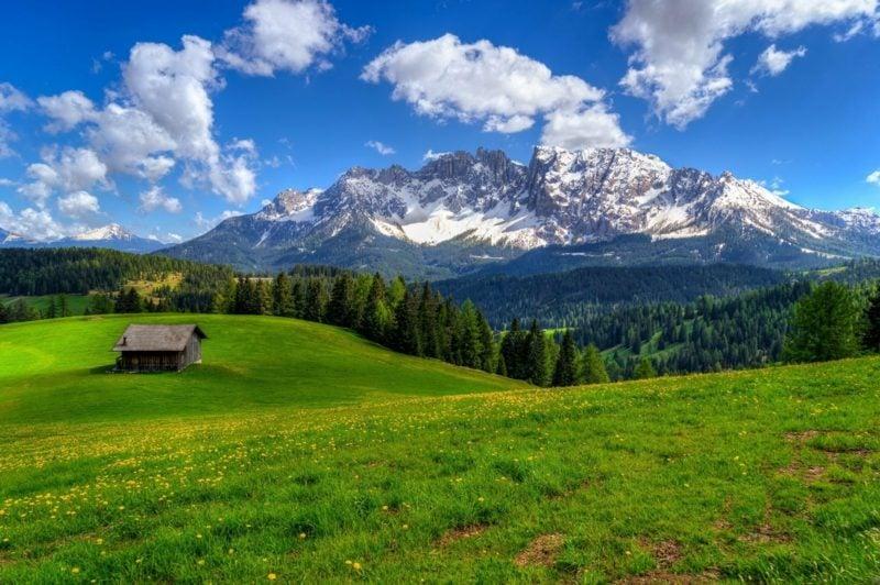 Fruhlingsbilder Gebirge